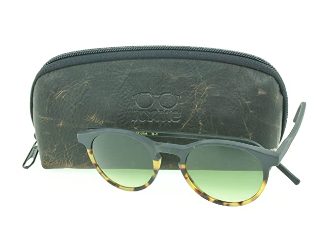 Amazon.com: Kyme Miki tamaño mediano redondo anteojos de sol ...