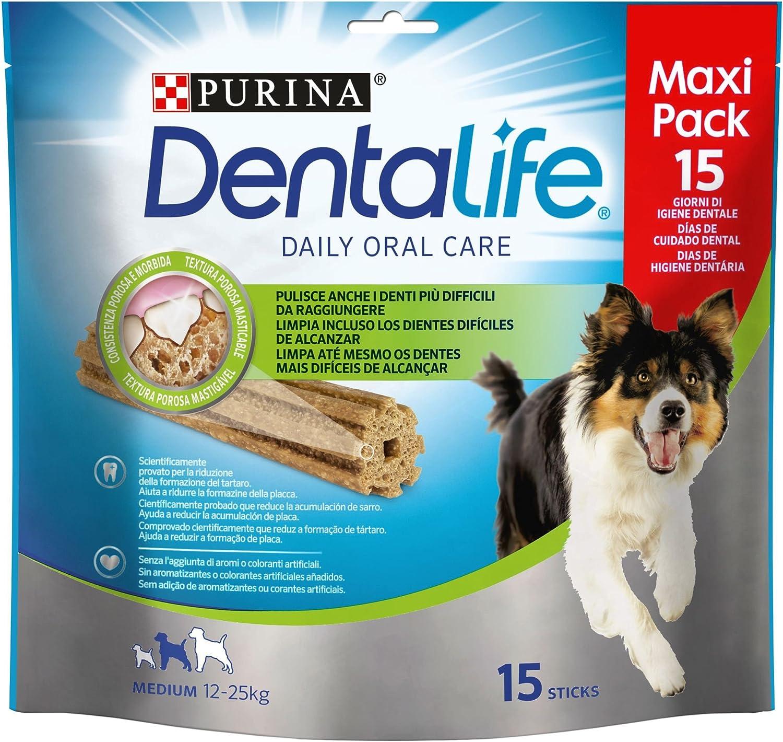 Purina Dentalife, Medium Loyalty, Pack 345g [Pack de 5] - Total: 1.725 Kg