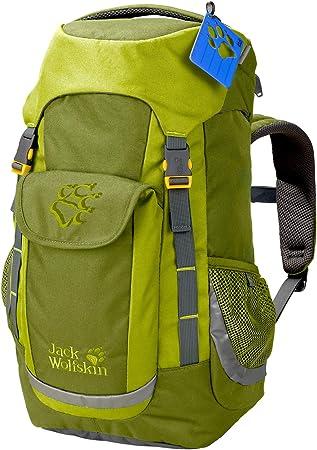Jack Wolfskin Kinder Explorer 16 Kinder Rucksack altgrün Einheitsgröße