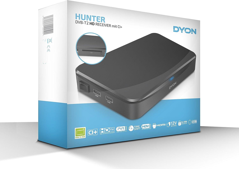 Dyon DVB-T2 Receiver Hunter Aufnahmefunktion, Ci+ Schacht