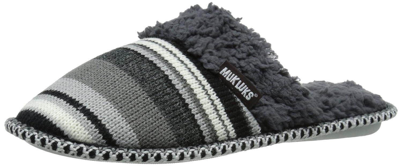 Muk Luks Women's Fairisle Knit Scuff Stripe Mule