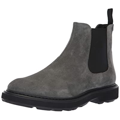 Emporio Armani Men's Casual Chelsea Boot Construction Shoe, Stone, 8 Regular UK (9 US): Shoes