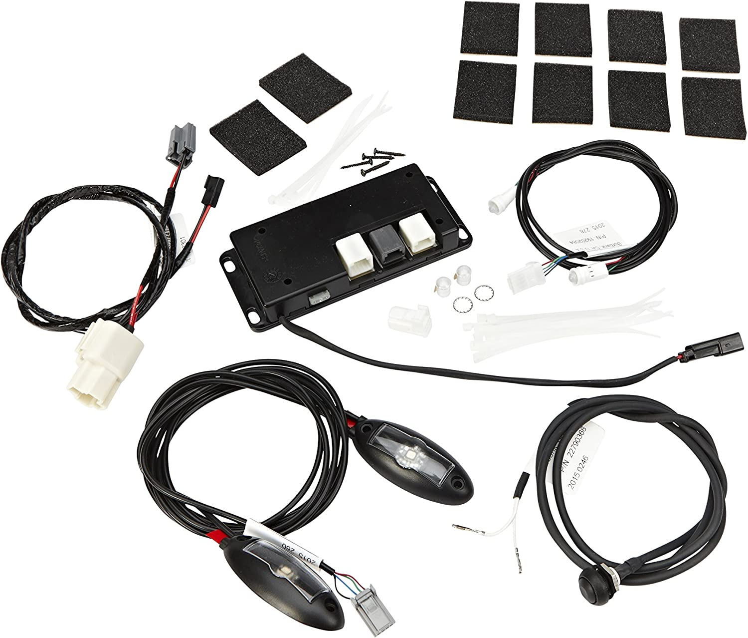 GM Accessories 20989191 Cup Holder and Footwell Ambient Lighting Kit General Motors