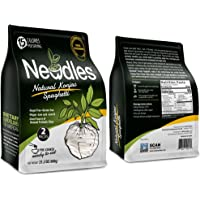 Newdles Low Carb & Low Calorie Spaghetti, Konjac / Shirataki, Sugar Free, Gluten Free, Keto Friendly, Vegan, Paleo, Non-GMO, Ready to Eat, Plain Flavour - 2 packs