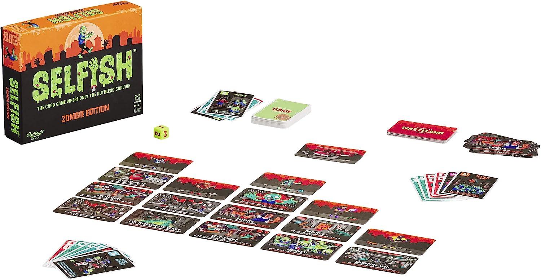 Ridleys Games- Selfish: Zombie Edition Game Juego de Cartas de Estrategia, Multicolor (GME028): Amazon.es: Juguetes y juegos