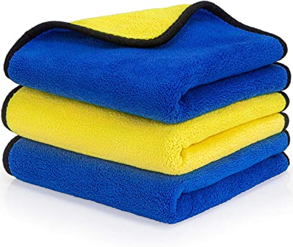 Car Wash Towel Microfiber Premium Auto Cleaning Drying Cloth Thick  Absorbent