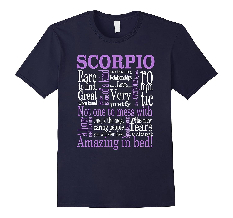 Amazing Scorpio Tshirt-Vaci