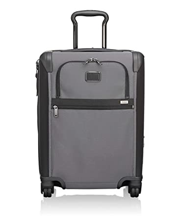 424e62327806 TUMI - Alpha 2 Continental Expandable 4 Wheeled Carry-On Luggage - 22 Inch  Rolling Suitcase for Men and Women - Pewter