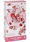 giocheria rdf50340 love bebe - passeggino gemellare