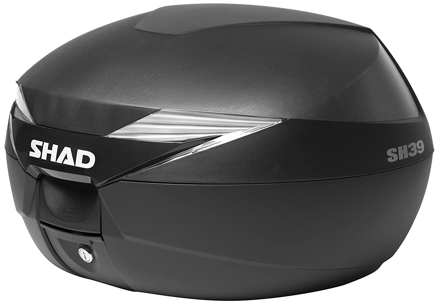 SHAD D0B39100 Top Case with Mounting Plate, Black NAD S.L