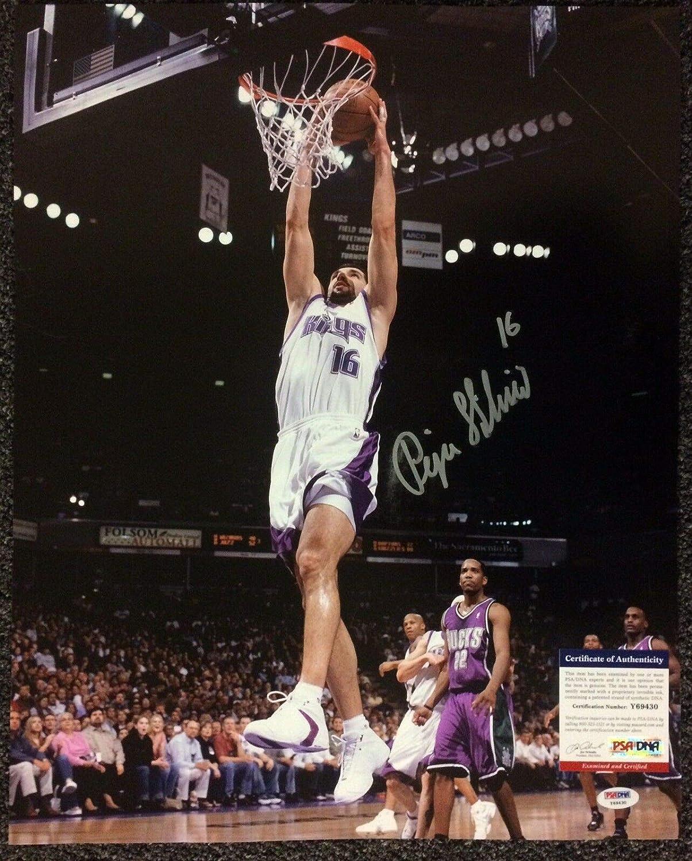 14d762d0f Peja Stojakovic Sacramento Kings Autographed Signed Memorabilia 16X20  Photograph Autographed Signed Memorabilia PSA DNA COA  30 at Amazon s  Sports ...