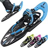 Snowshoe ALPIFLEX 25 in many Colours with Heel Lifter and Carry Bag by Alpidex