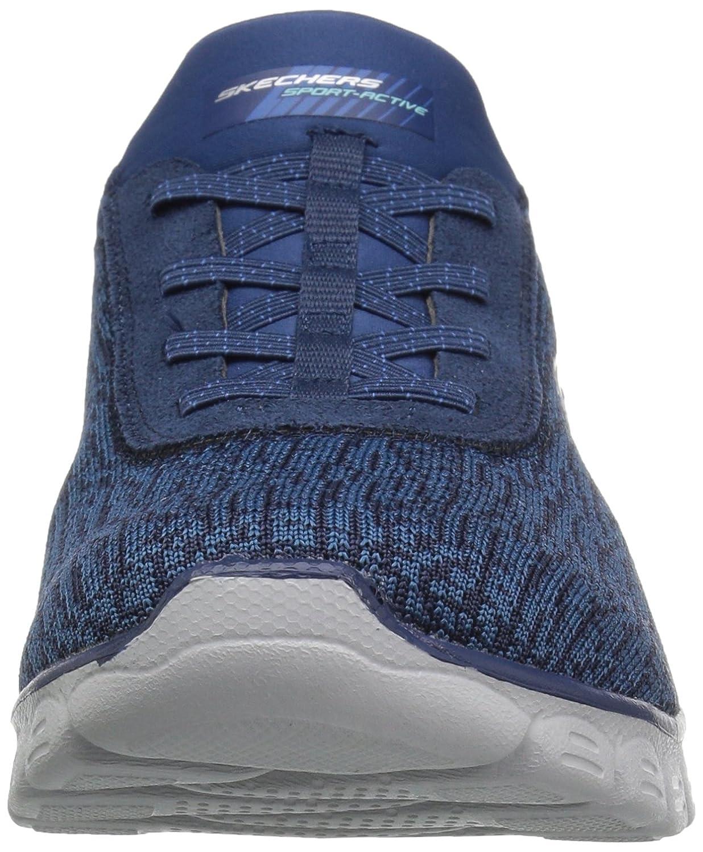 Skechers Womens/Ladies Microburst Supersonic Stretch Trainers Shoes Marineblau