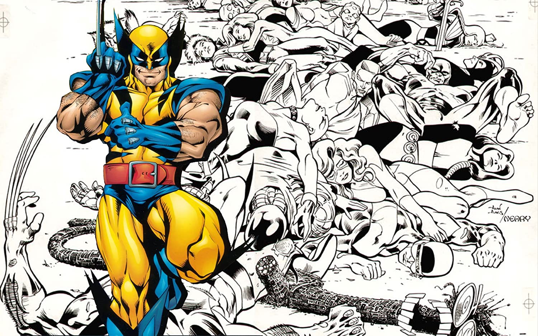Posterhouzz Comics X Men Wolverine Hd Wallpaper Background Fine