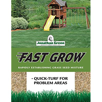 Jonathan Green Fast Grow Grass Seed, 7-Pound : Grass Plants : Garden & Outdoor