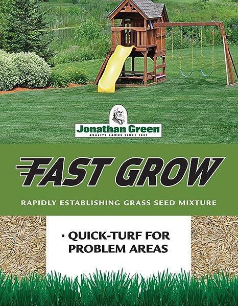 Amazon Com Jonathan Green Fast Grow Grass Seed 7 Pound Grass Plants Garden Outdoor