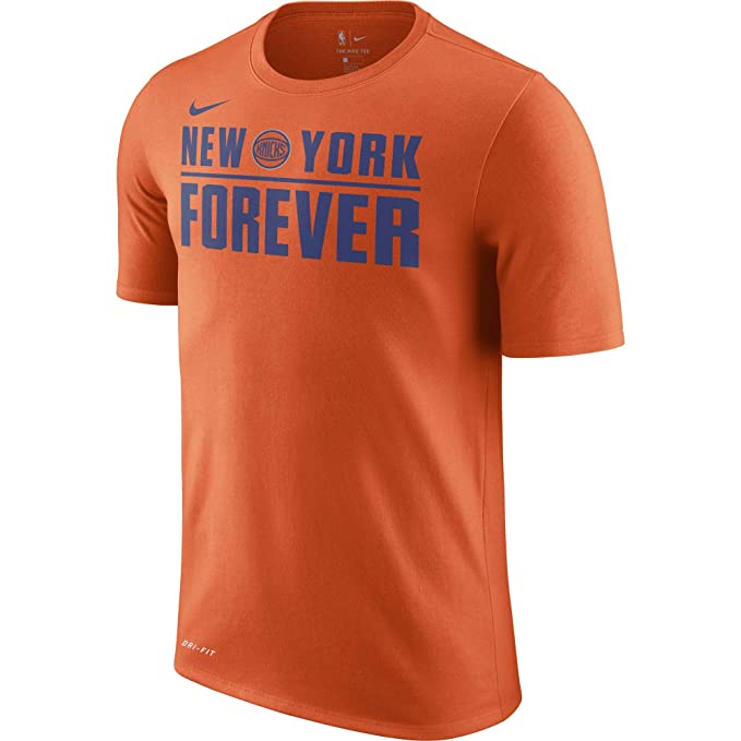 Nike NBA New York Knicks Kristaps Porzingis 2017 2018 Verbiage tee City Edition, Camiseta de Hombre: Amazon.es: Ropa y accesorios