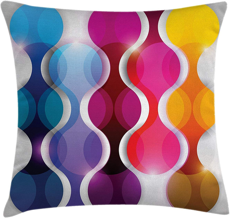 La decoración abstracta lanza la almohada, el diseño gráfico ...