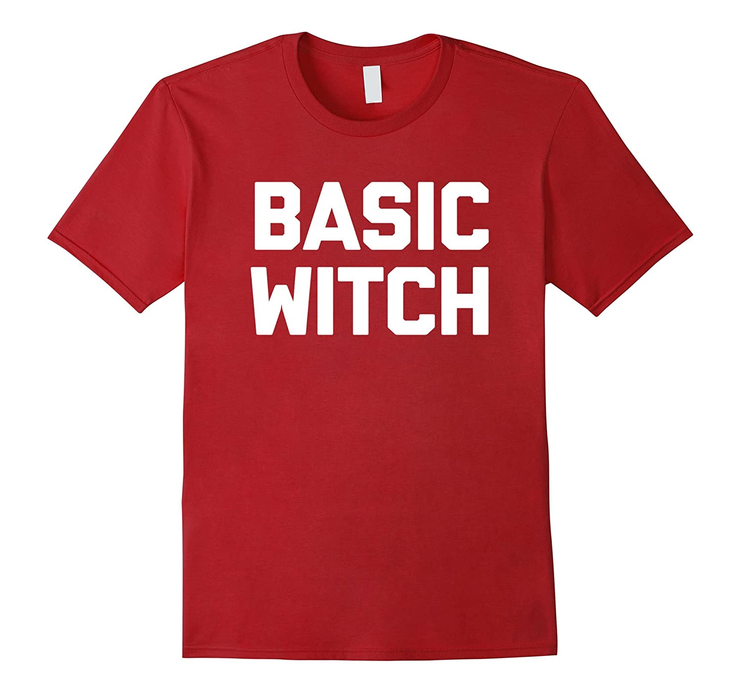 Basic Witch T-Shirt funny saying halloween costume sarcastic-Cool ...