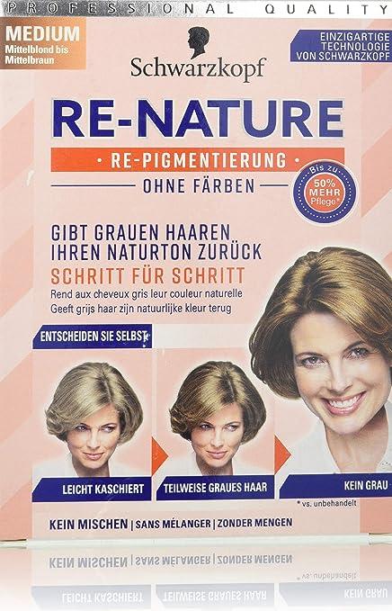 Schwarzkopf Re-Nature - Tinte para cabello (sin tinte, tamaño mediano, 1 unidad, 145 ml)
