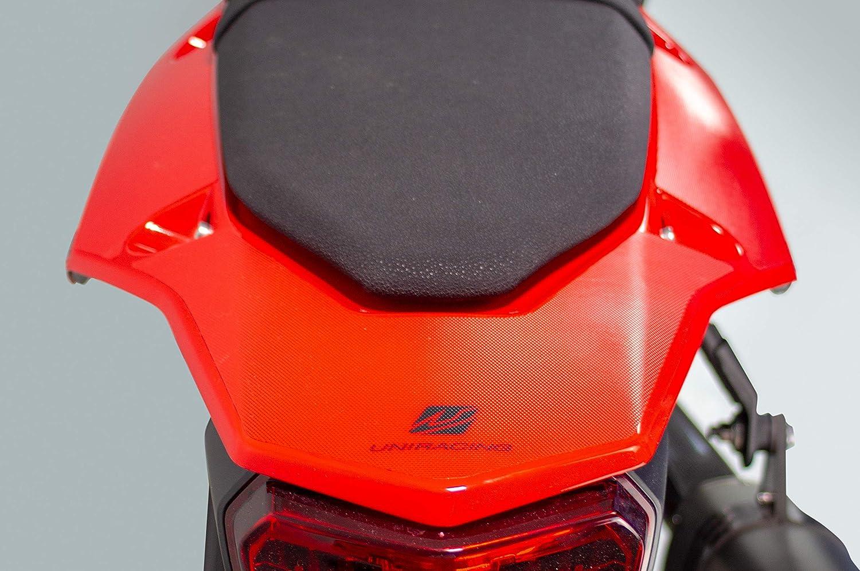Transparente-Negro UNIRACING K48850 Scratch Saver Off Road para Yamaha Tenere 700 2019-20 Col/ín+Protector de Basculante Kit