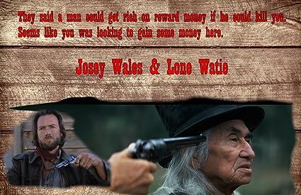 Amazon.com: Gatsbe Exchange Poster Print Outlaw Josey Wales ...