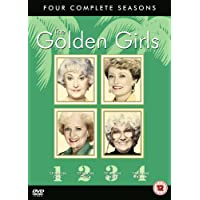 Golden Girls Seasons 1-4 DVD Boxset