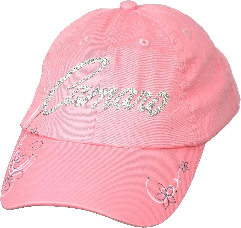 Johny Rockstar Clothing Womens Chevy Camaro Hat Pink at