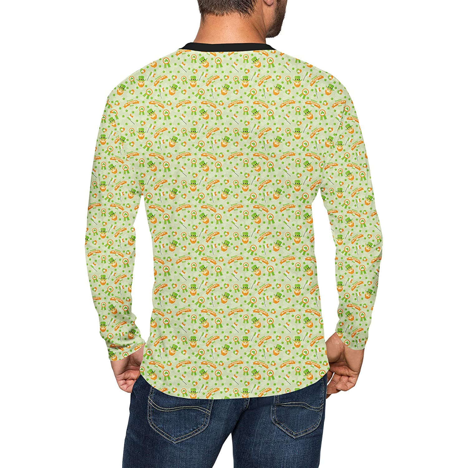 Queen of Cases St Patricks Day Mens Longsleeve Tee