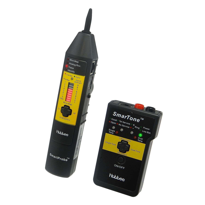 Hobbes 256713D Testeur de câble réseau numérique | Smart Tone & SmartProbe Kit
