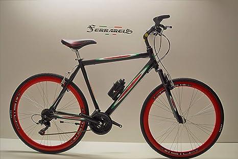 Bicicleta híbrida 28 Carrera Carretera de Aluminio 21 V Shimano ...