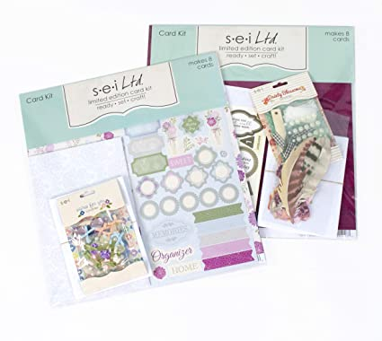 Amazon Com Card Making Kit Pack Two Kits With Complete