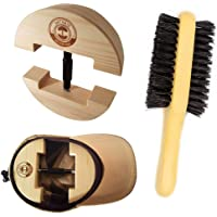 Premium Hat Stretcher with BONUS Hat Brush & Ebook. HAT MATE. Solid Wood, One Size Fits All, Heavy Duty, Hat Stretchers…