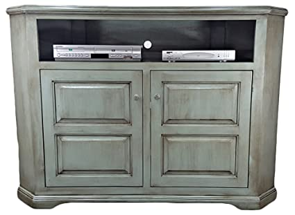 Image Unavailable Image Not Available For Color American Heartland Poplar Tall Corner Tv Stand