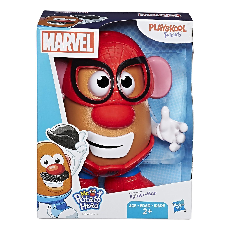 PLAY-DOH Playskool Friends Mr. Potato Head Marvel Classic Spider-Man Figure(E2418AS00) HAT3A