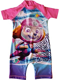 832566ae3c Swim Sun Safe Protection UV Suit 50+ Nick Jr Paw Patrol Girls Swimming Suit  All