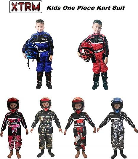motivo mimetico WULFSPORT Junior 1 pezzo Suit Tuta moto intera da ragazzo per quad e off-road Bambini tuta motocross