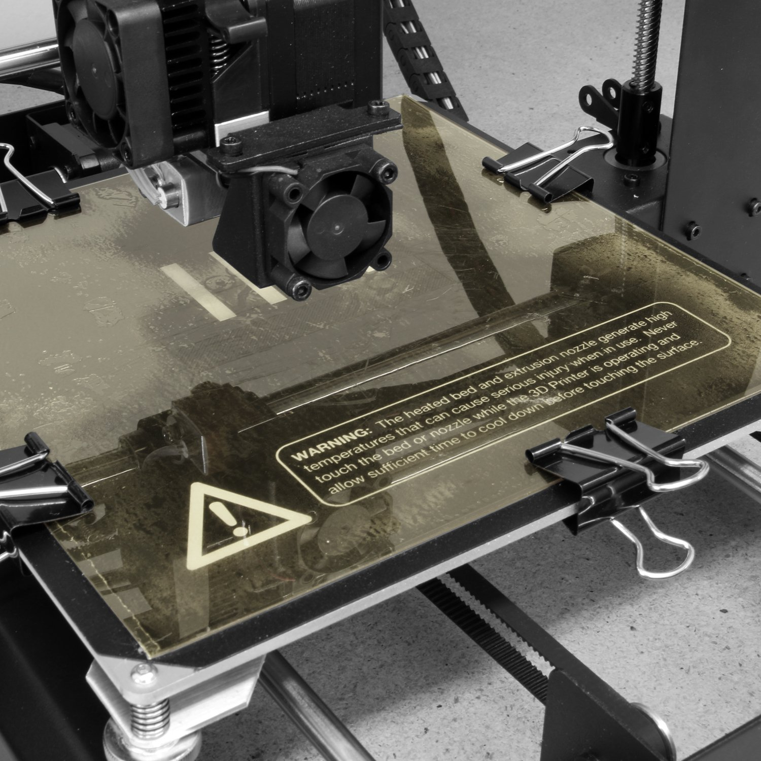 Made in The USA 1mm Thick 3D Printer Build Surface with 3M 468MP Adhesive Gizmo Dorks PEI Sheet 8 x 8 203mm x 203mm