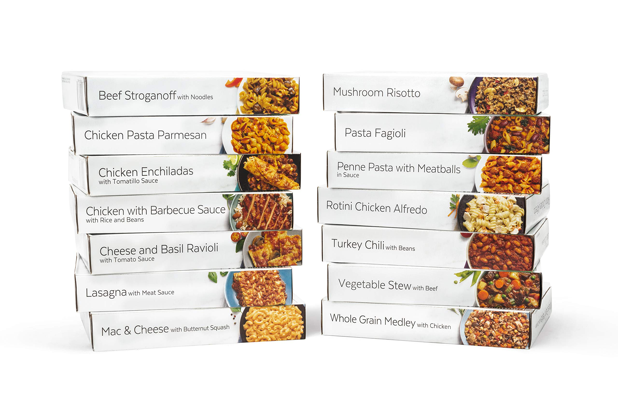 HMR Ultimate Entree Variety Pack, 14 Different Meals, 7-8oz. Servings, 14 Count