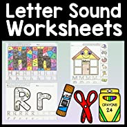 Alphabet Learning with Letter Sound Worksheets {26 Letters A-Z!}