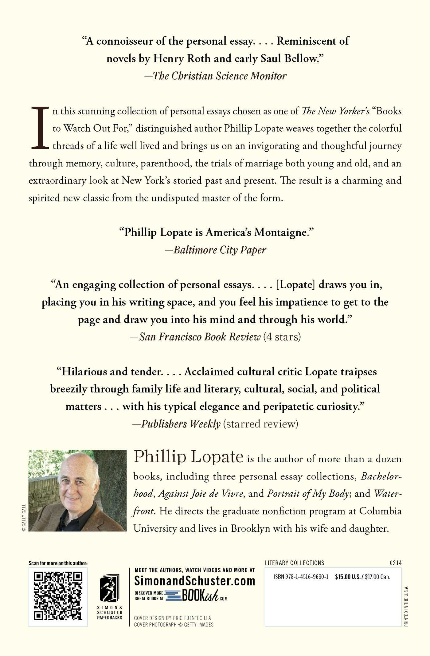 portrait inside my head essays phillip lopate  portrait inside my head essays phillip lopate 9781451696301 com books