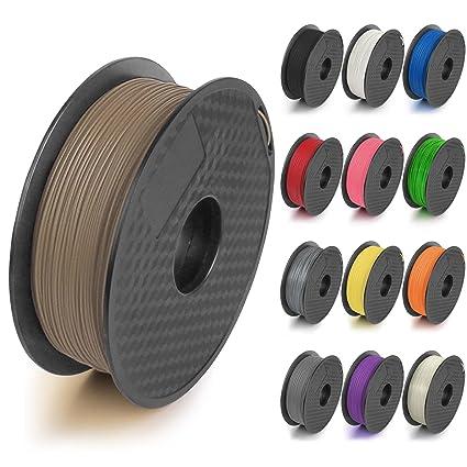 Filamento para impresora 3D de ABS/PLA, 1,75 mm, 1 kg: Amazon.es ...