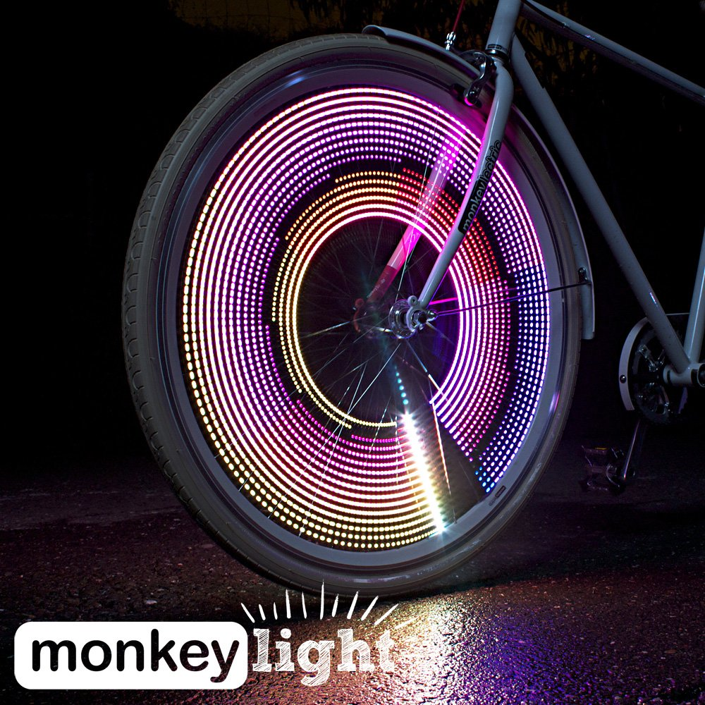 32 Luces Led Para Rueda De Bicicleta Monkey Light M232