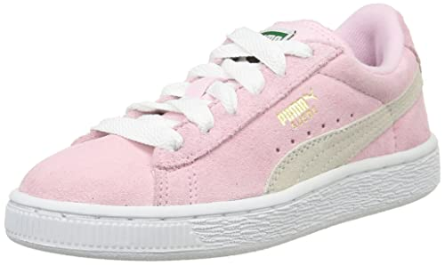 22432529953 Puma Boys  355110 Z Trainers Pink Rose (Pink Lady White Team Gold