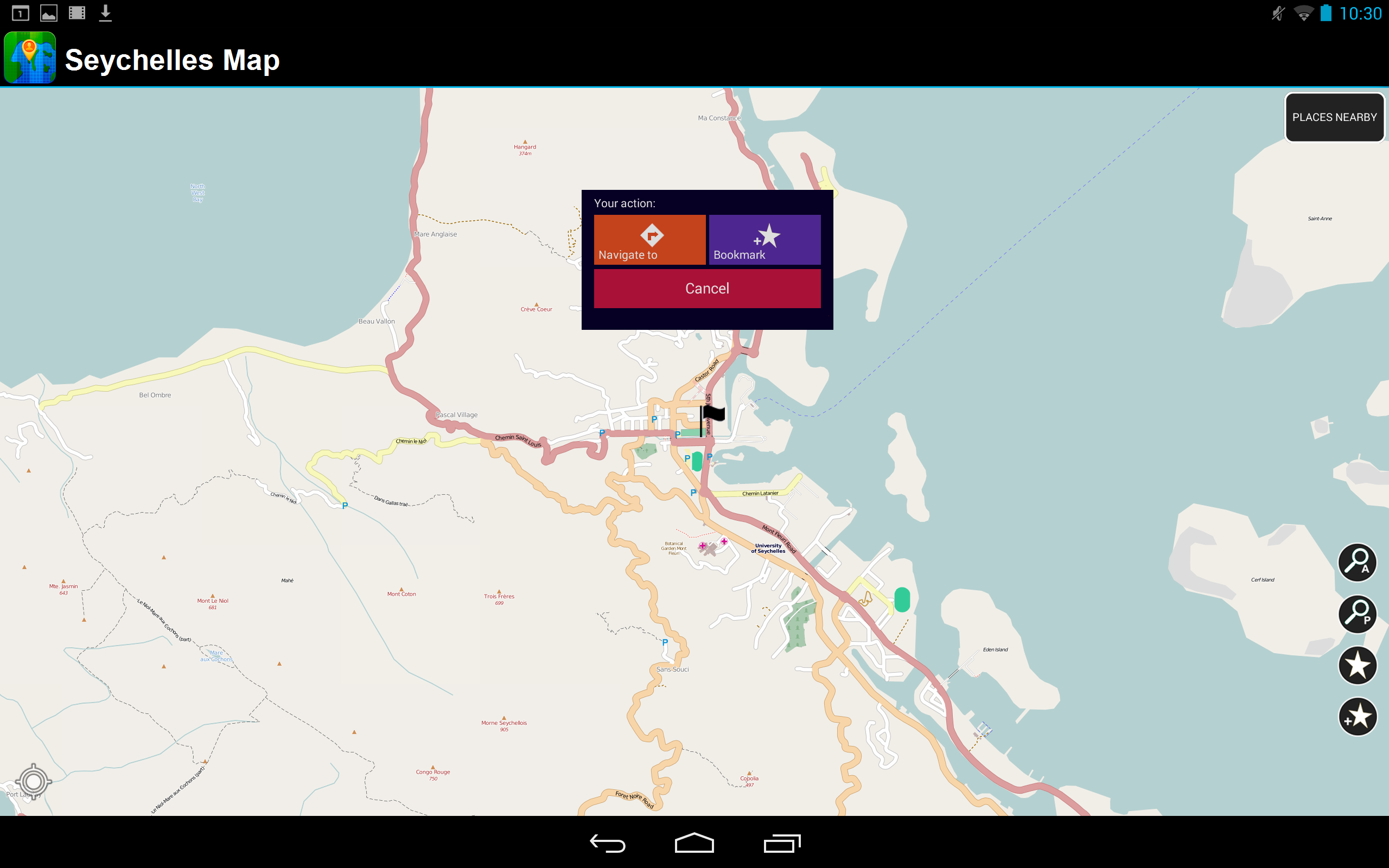 Amazon Com Seychelles Offline Map Appstore For Android