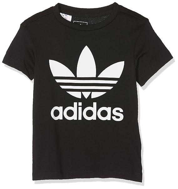 adidas Trefoil Camiseta de Niños: Amazon.es: Ropa y accesorios