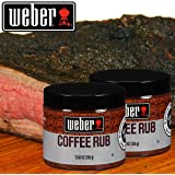 2 x 12.5 oz Weber Gourmet Coffee Rub