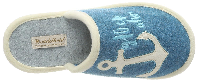 Adelheid Glück ahoi Filz 11141213792 Damen Damen Damen Pantoffeln Blau (Wasserblau) f0dc91