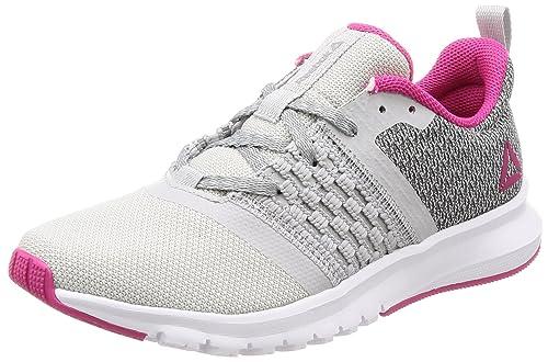 Reebok Print Lite Run amazon-shoes grigio Sportivo Disfrutar En Línea Guwcfp