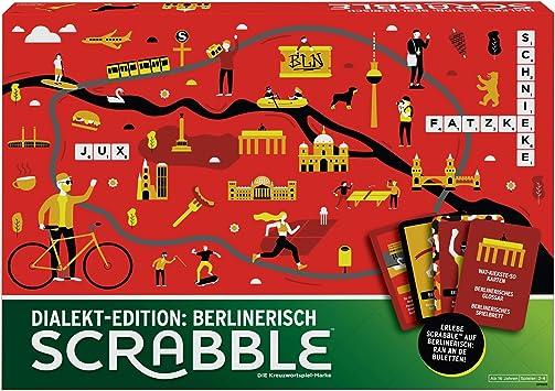 Mattel Games- Scrabble Dialekt Edition: Berlín. (GPW45): Amazon.es: Juguetes y juegos